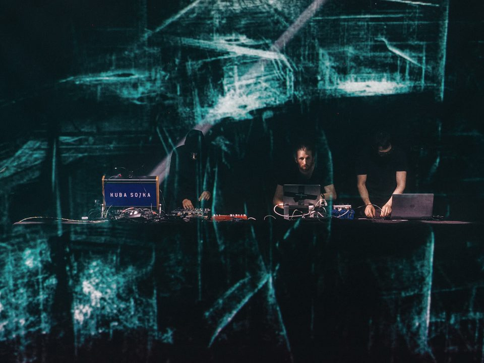 Cloudhitects and Poly Face live performance